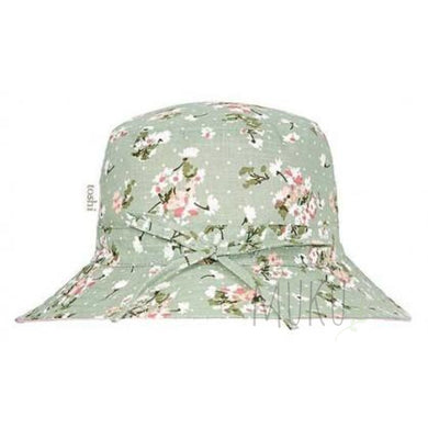 TOSHI SUN HAT TWIGGY SAGE - M(2 years- small grown up) - baby apparel