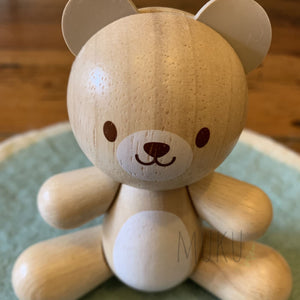 Wooden Bear Toy - physical