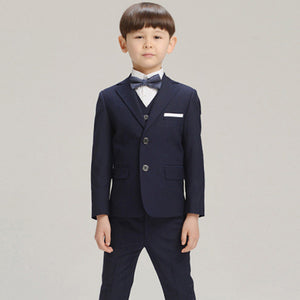 Boys suits for weddings Kids Prom Suits Black Wedding Suits for Boys tuexdo Children Clothing Set Boy Formal boys blazers kids
