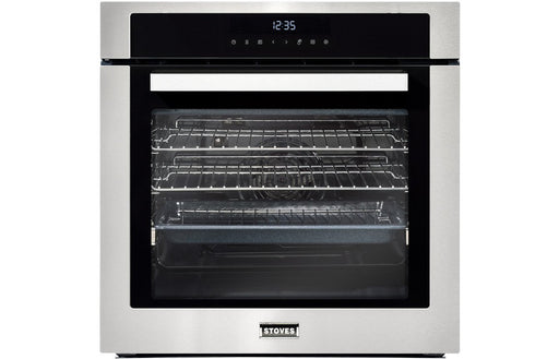 Stoves SEB602MFC B/I Single Electric Oven - St/Steel