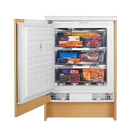 HAP6401 A Bosch White Integrated Built-Under Freezer 60cm
