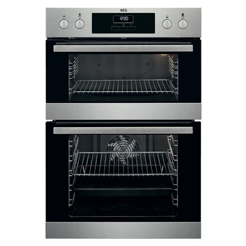 AEG Double Multi-Function Oven - Stainless Steel