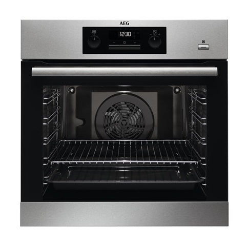 AEG Single Pyrolytic Multi-Function Oven - Stainless Steel