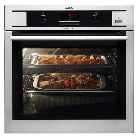 AEG Single Pyrolytic Oven - Stainless Steel