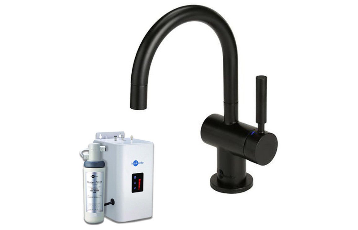 InSinkErator HC3300 Hot/Cold Mixer Tap, Neo Tank & Water Filter - Black