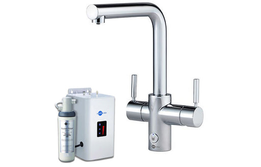 InSinkErator 4N1 L Shape Tap, Neo Tank & Filter Pack - Chrome