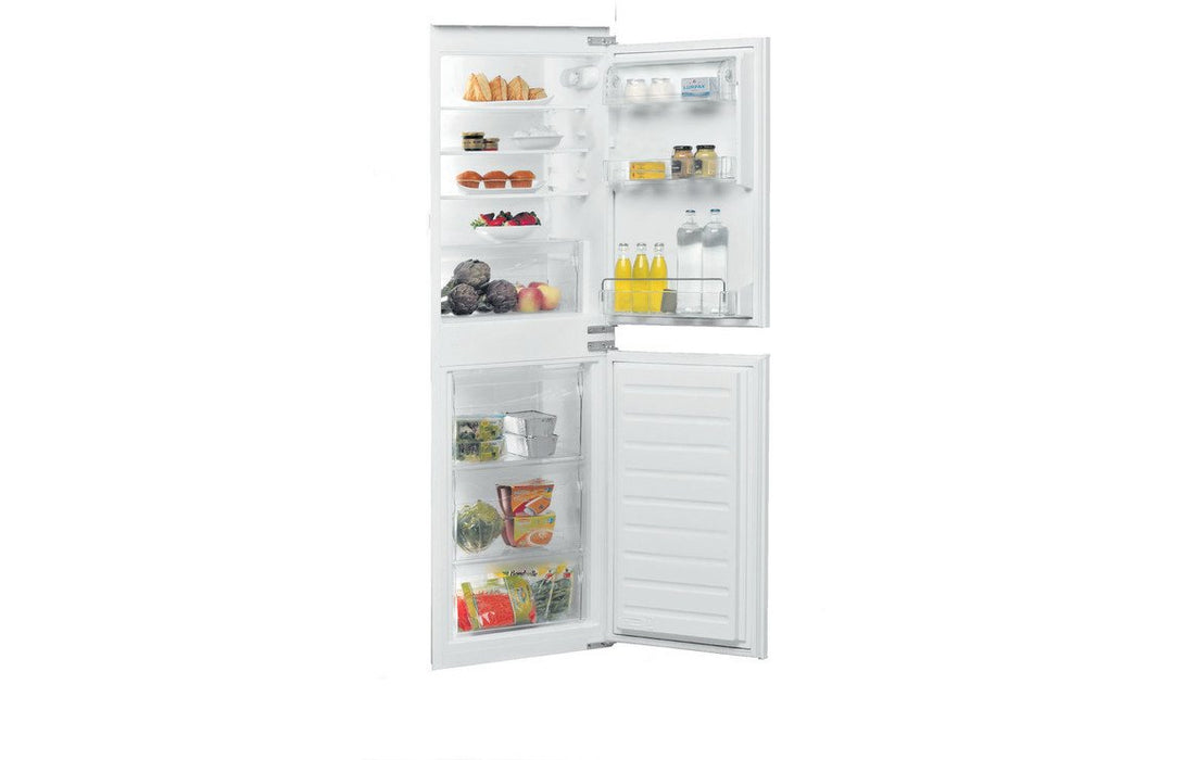 Whirlpool ART 4550/A+ SF.1 Built In 50/50 Fridge Freezer - Silver