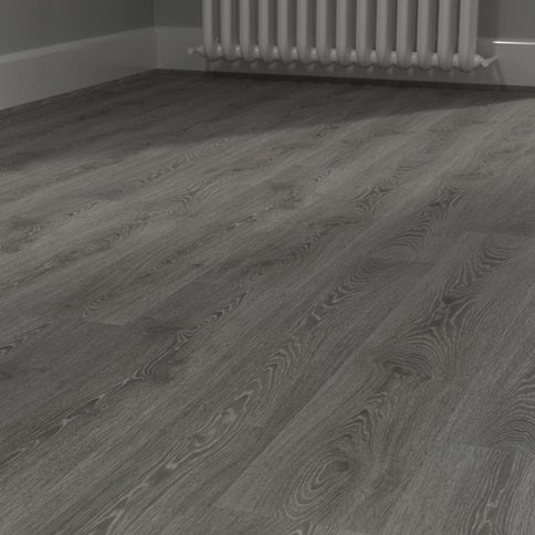 Howdens Premium Professional Fast Fit V Groove Pewter Grey Oak 1.29m2