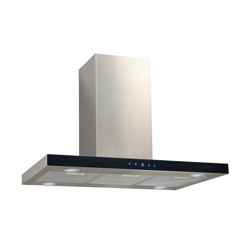 LAM2851 A Lamona S/Steel Touch Ctrl T-Box Island Extractor 90cm