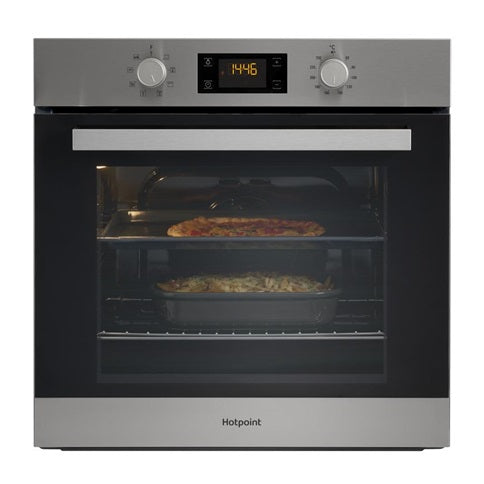 SA3544C Hotpoint IX Stainless Steel Built In Single Oven