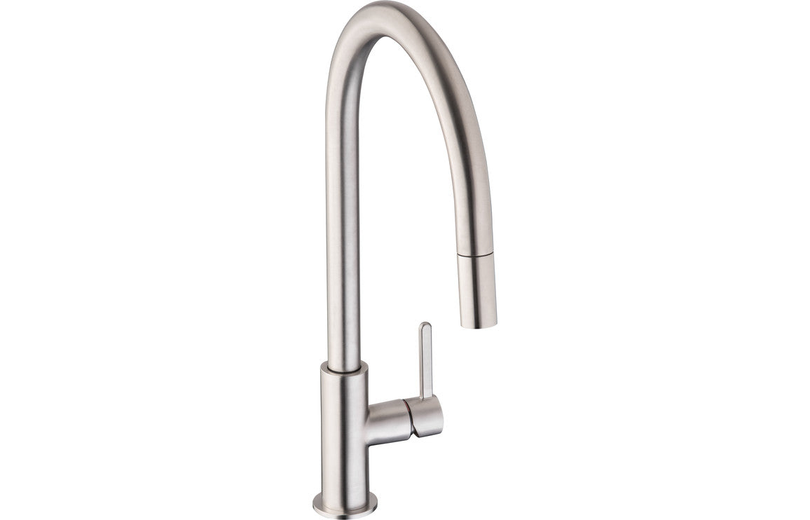 Abode Althia Mixer Tap w/Pull Out - Brushed Nickel