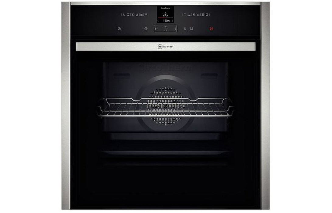 Neff N70 B47CR32N0B B/I Single Slide&Hide® Electric Oven - St/Steel