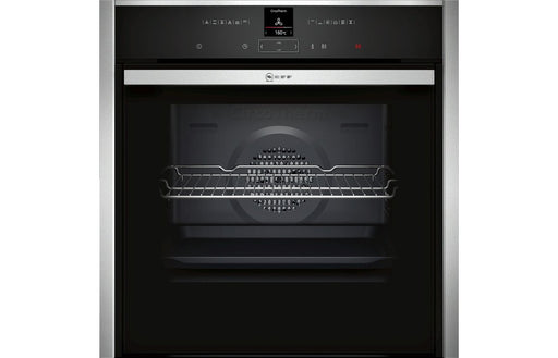 Neff N70 B57CR22N0B B/I Single Slide&Hide® Pyrolytic Oven - St/Steel