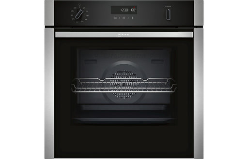 Neff N50 B5ACH7AN0B B/I Single Slide&Hide® Pyrolytic Oven - St/Steel