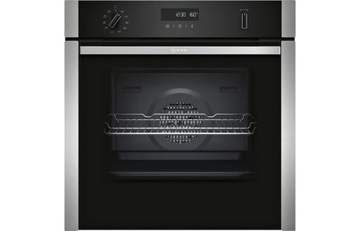 Neff N50 B6ACH7HN0B B/I Single Slide&Hide® Pyrolytic Oven - St/Steel