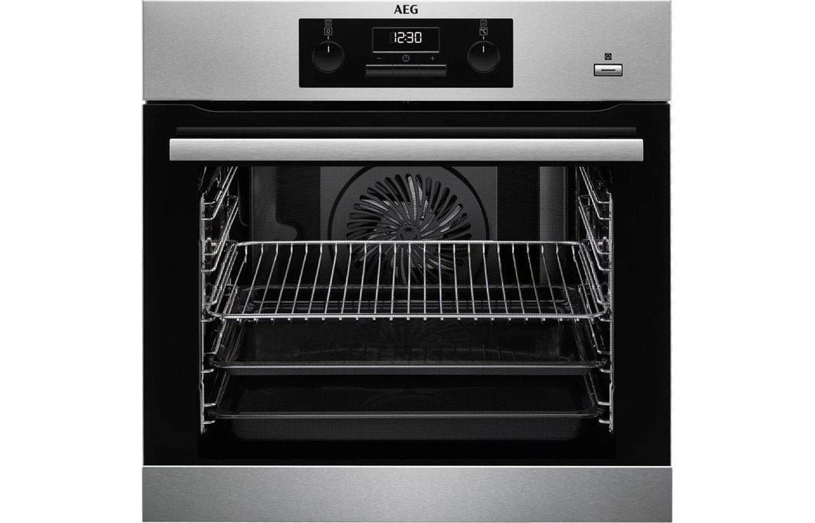 AEG BEK351010M B/I Single Electric Oven - St/Steel