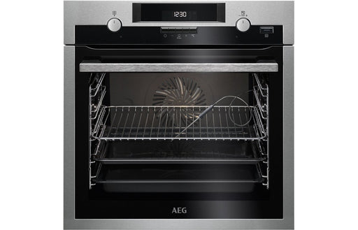 AEG BPK552220M B/I Single Electric Oven - St/Steel
