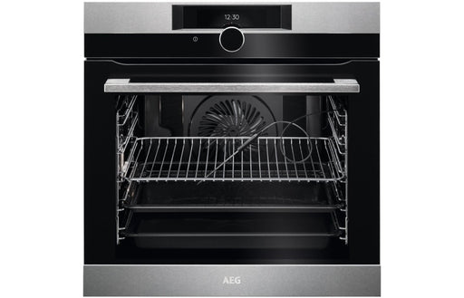 AEG BPK842720M B/I Single Pyrolytic Oven - St/Steel
