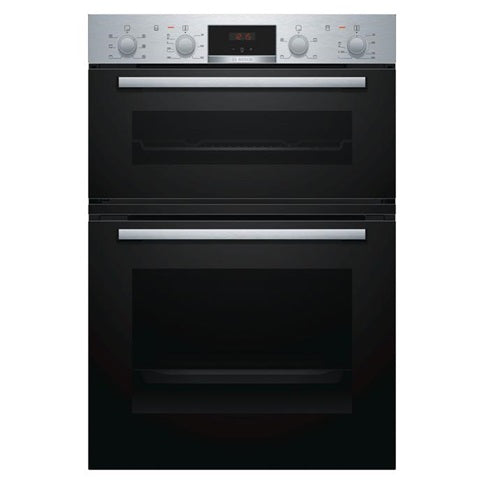 Bosch Double Fan Oven - Stainless Steel