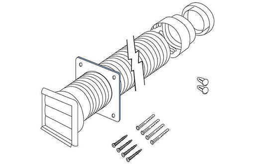 Electrolux CDK5F 12x100cm Ducting Kit