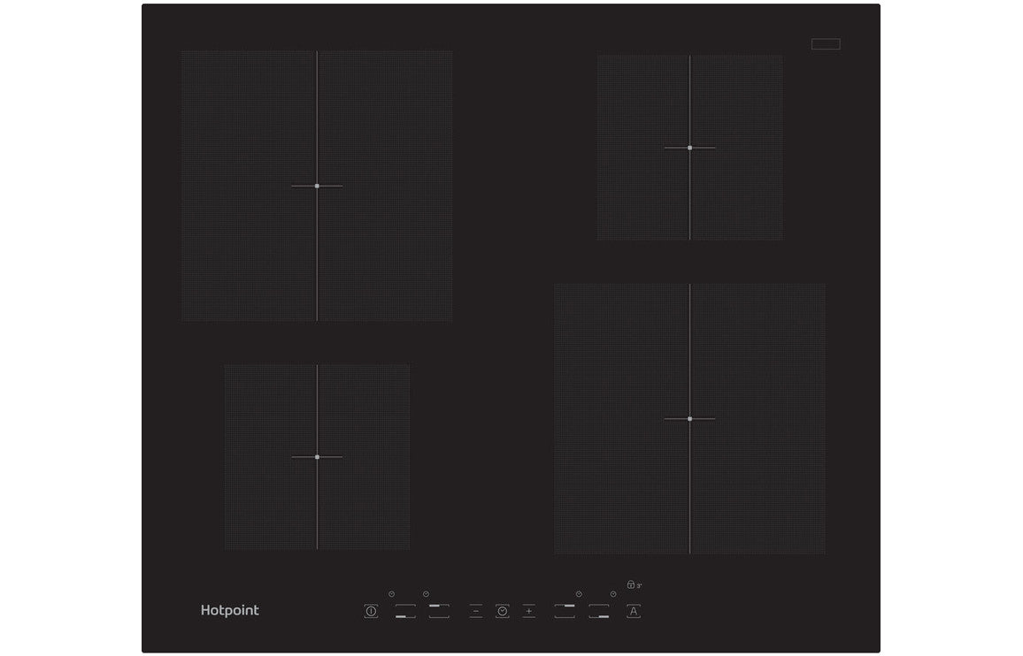 Hotpoint CIA 640 C 60cm Induction Hob - Black