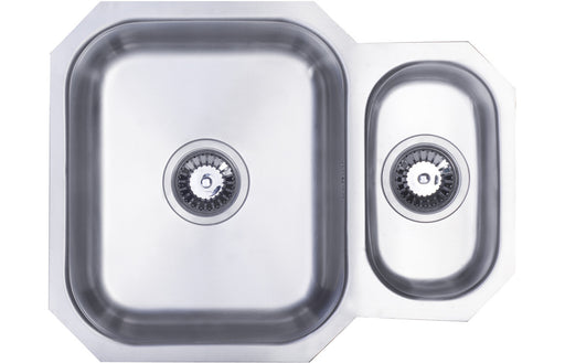 Prima 1.5B Undermount Reversible Sink - Polished Steel
