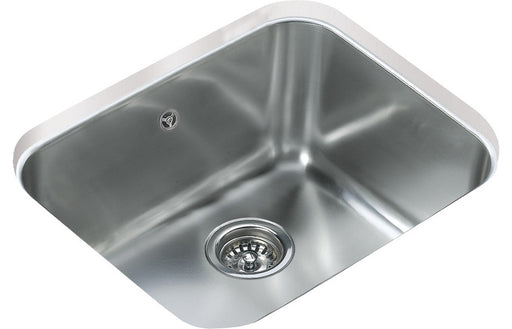 Teka BE 50.40 PLUS 1B Undermount Sink - St/Steel