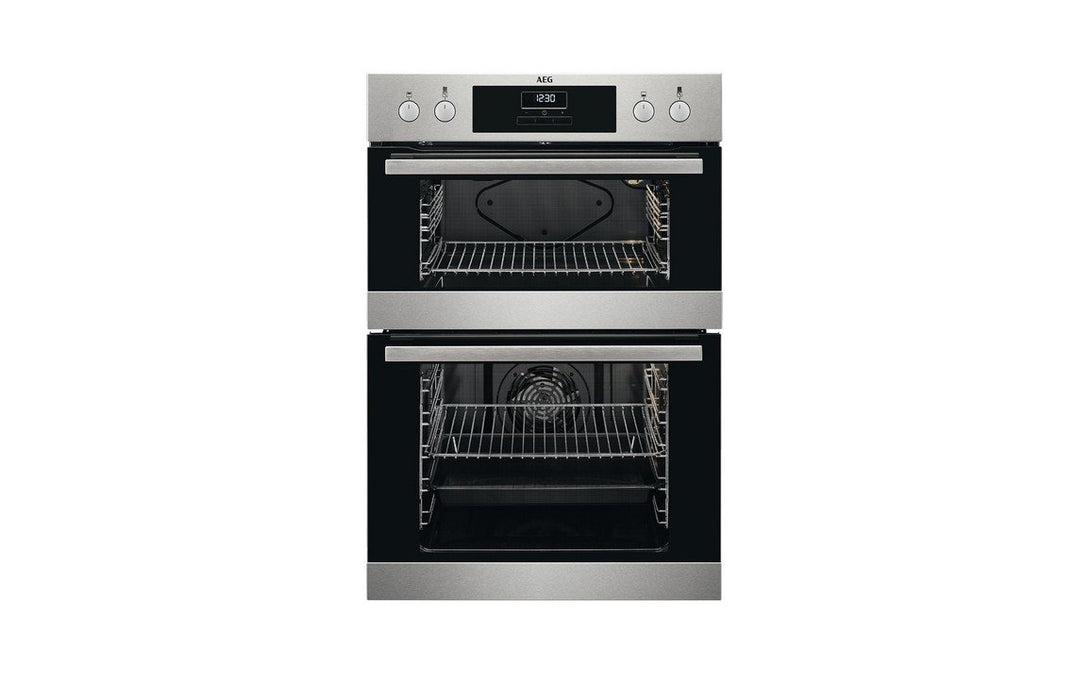 AEG DEB331010M B/I Double Electric Oven - St/Steel