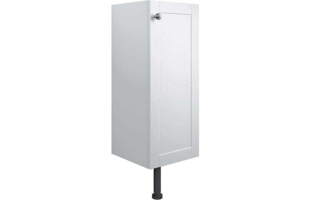 Benita 300mm 1 Door Base Unit - Satin White Ash