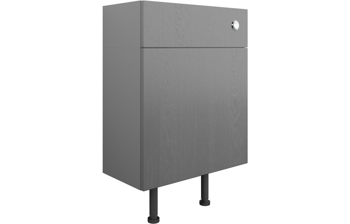 Benita 600mm WC Unit - Grey Ash