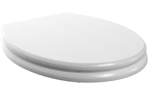 Benita Soft Close Toilet Seat - Satin White Ash