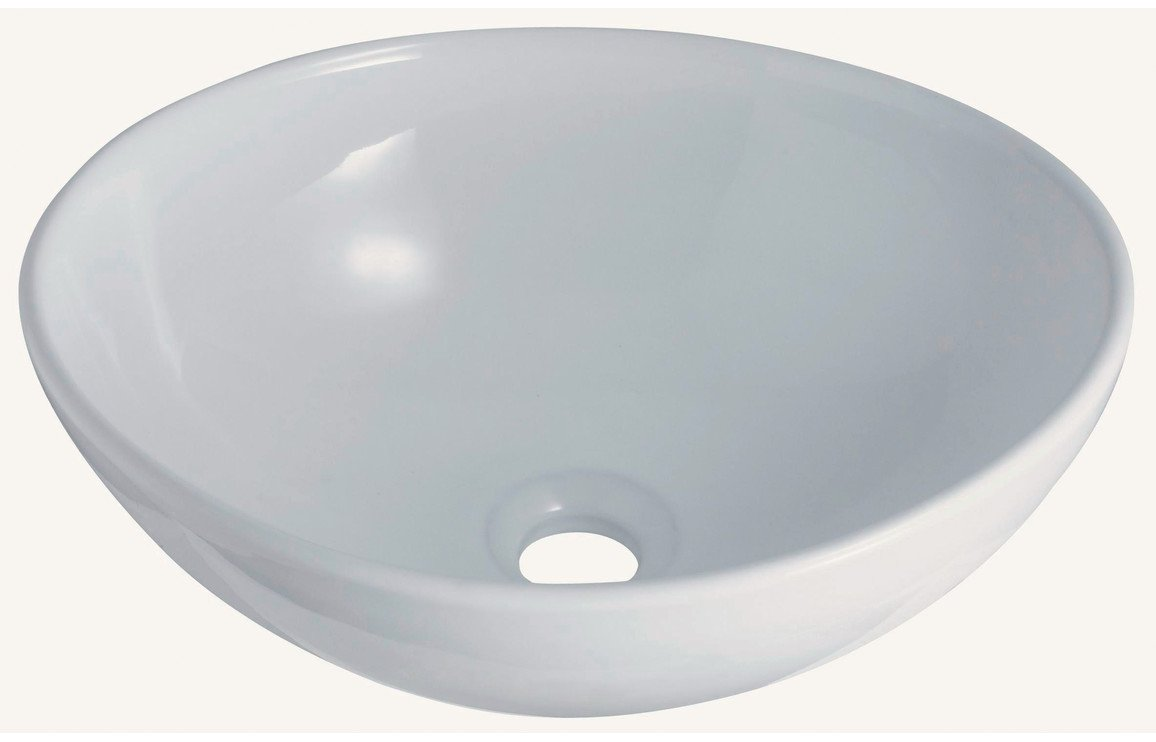 Oval 412x352mm 0TH Ceramic Washbowl