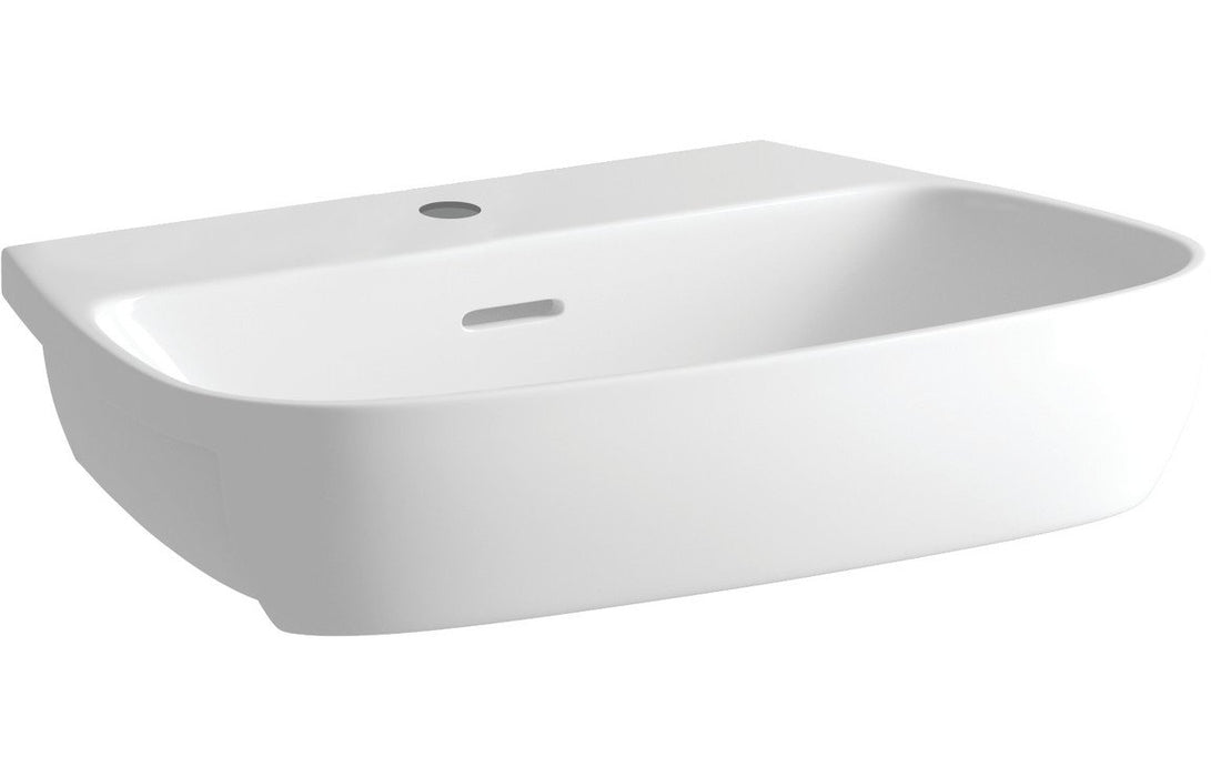 Tilia 605x410mm 1TH Semi Recessed Basin
