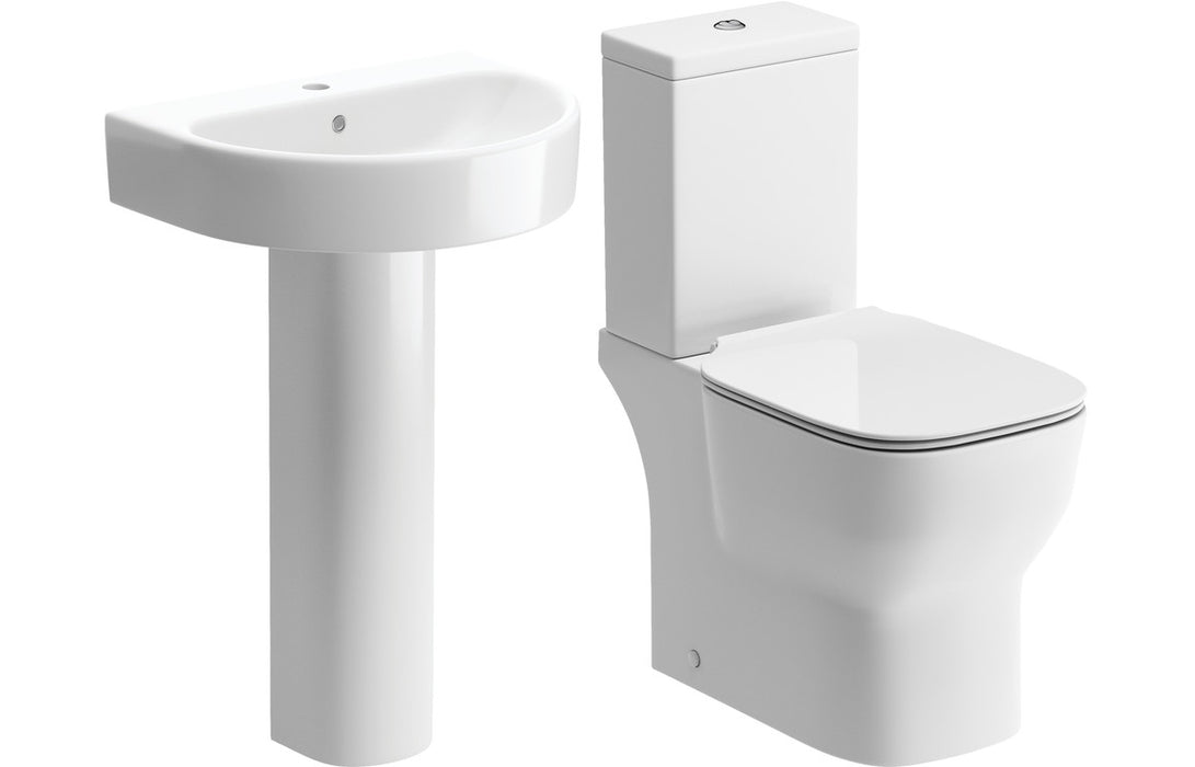 Senna Basin & Toilet Set