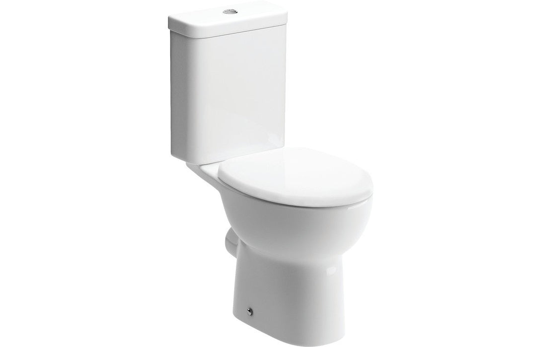 Tuscany C/C Open Back WC & Soft Close Seat