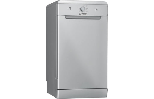 Indesit DSFE 1B10 S UK F/S 10 Place Slimline Dishwasher - Silver