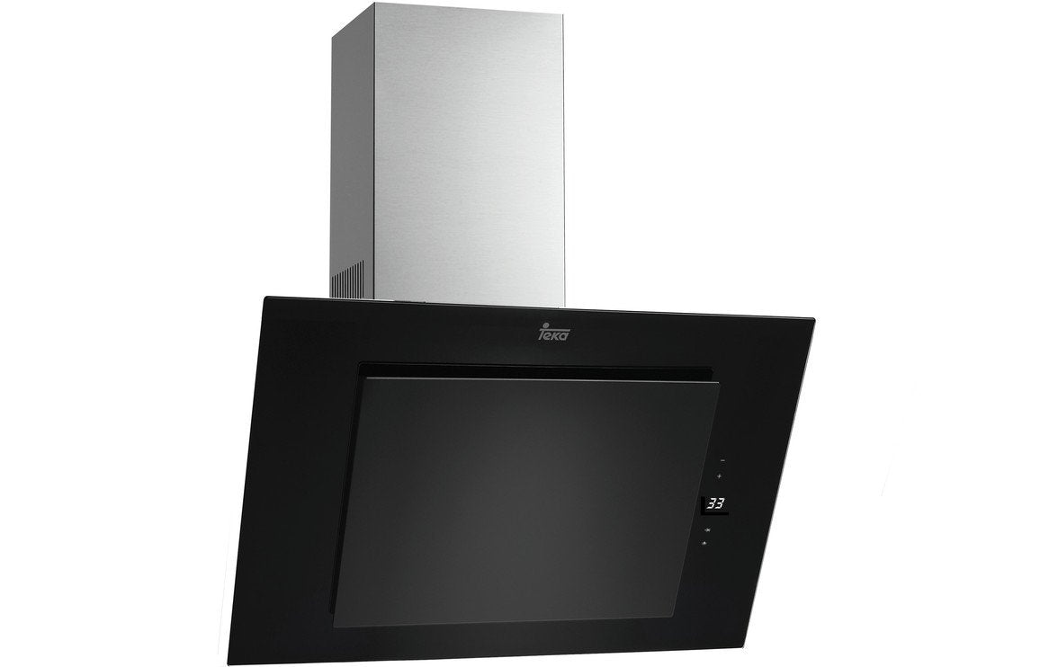 Teka DVT 785 70cm Angled Chimney Hood - Black