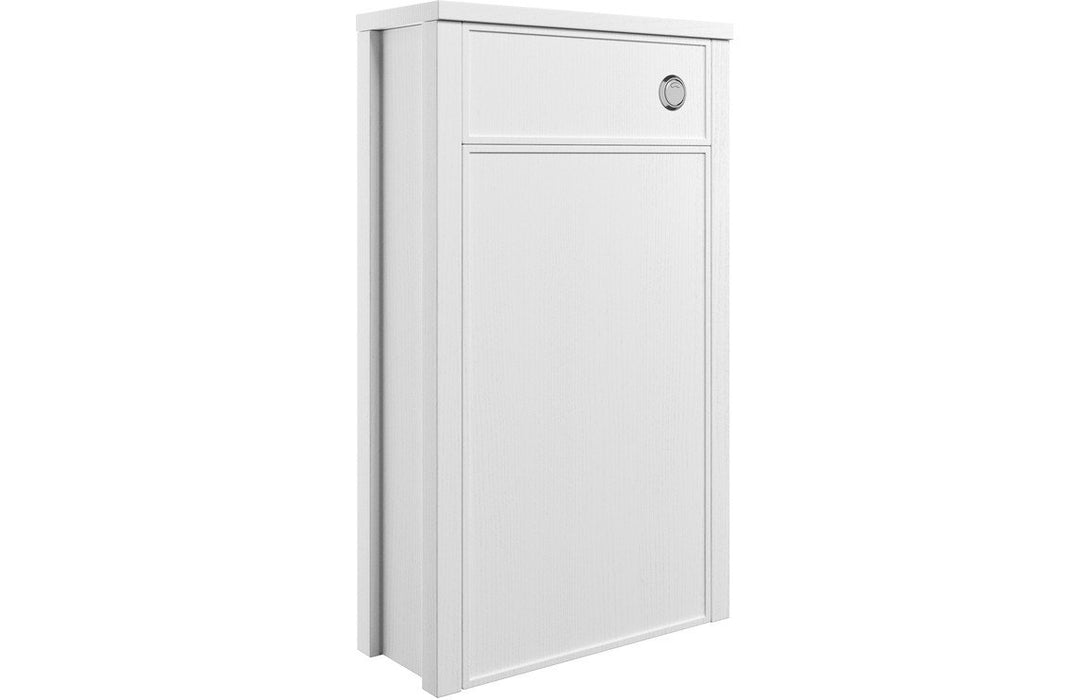 Lucia 510mm WC Unit - Satin White Ash