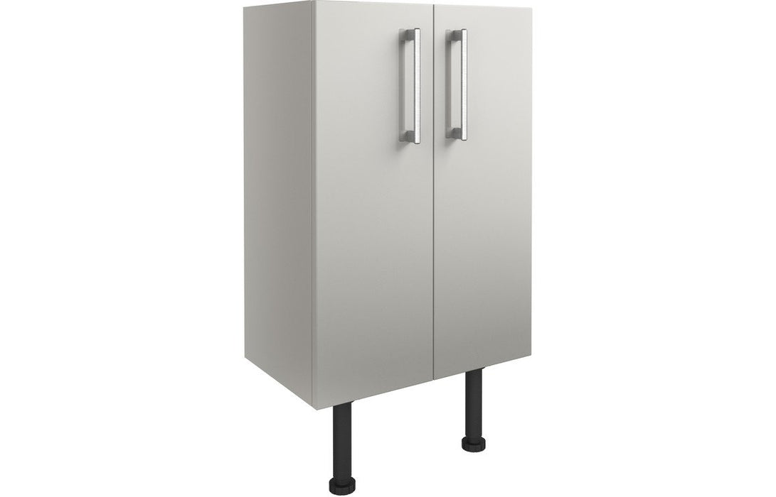 Alba 500mm Base Unit - Light Grey Gloss