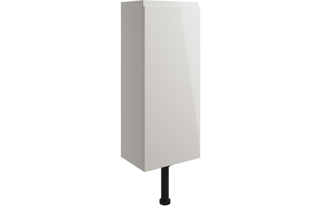 Valesso 300mm Slim Base Unit - Pearl Grey Gloss