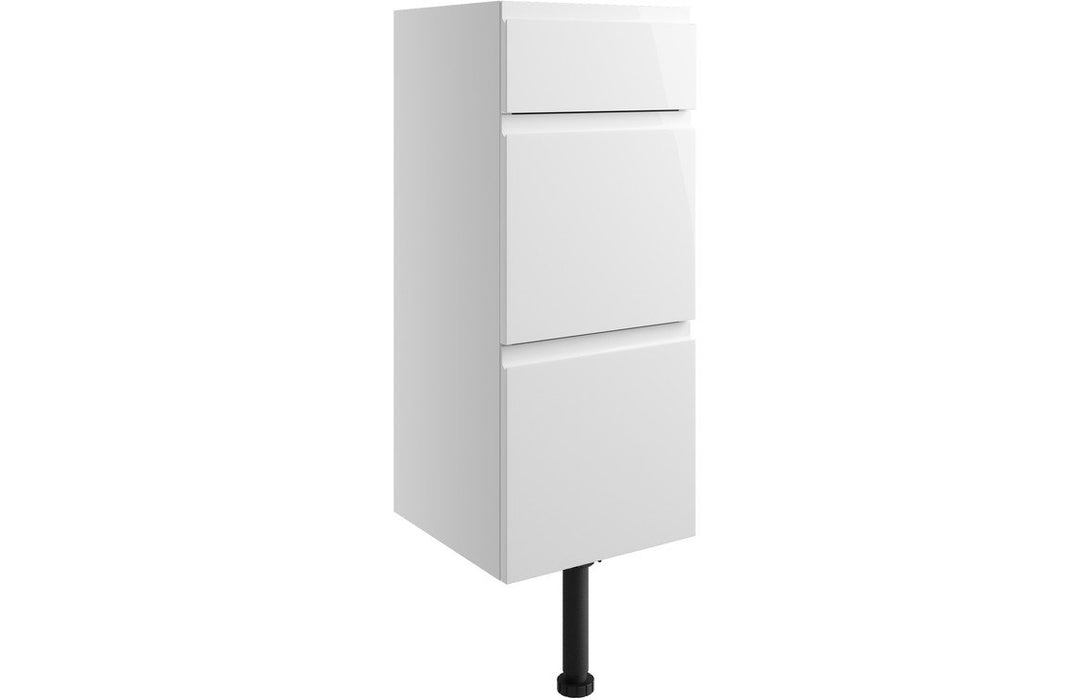 Valesso 300mm Drawer Unit - White Gloss