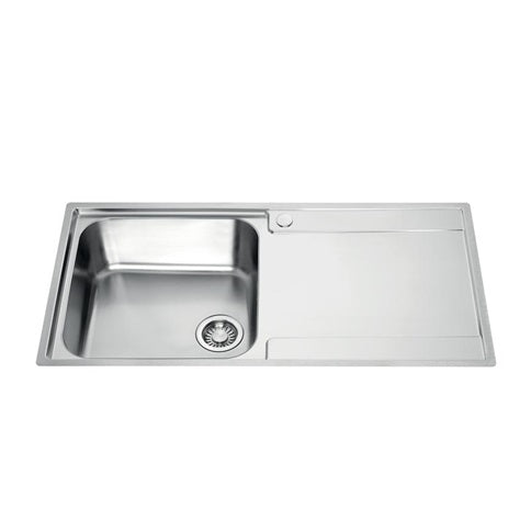 Franke Maris Single Bowl Sink RH Drainer (SNK8005)