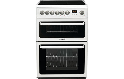 Hotpoint HAE60PS Free Standing Double Electric Oven - White
