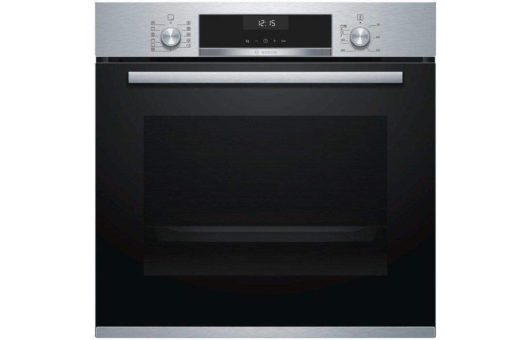 Bosch Serie 6 HBA5570S0B B/I Single Electric Oven - Br/Steel