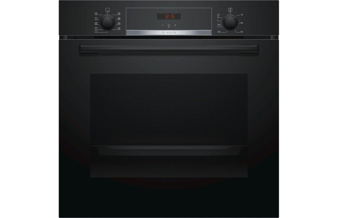 Bosch Serie 4 HBS534BB0B B/I Single Electric Oven - Black