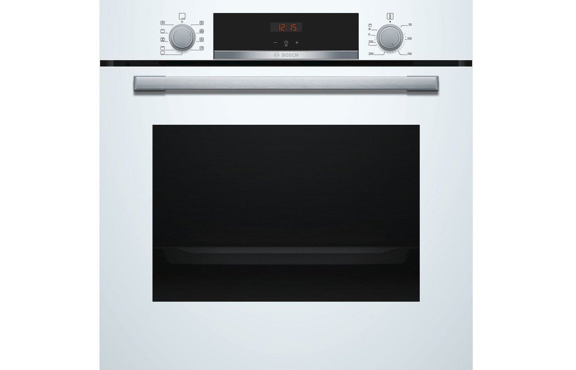 Bosch Serie 4 HBS534BW0B B/I Single Electric Oven - White