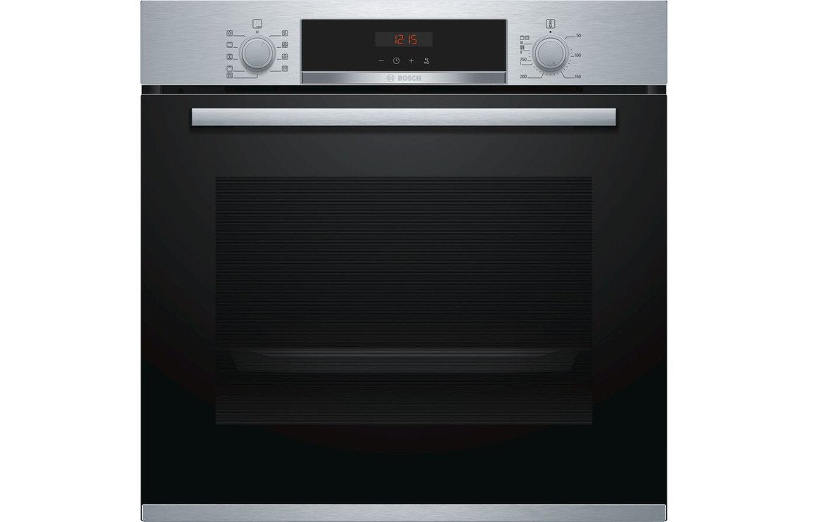 Bosch Serie 4 HBS573BS0B B/I Single Pyrolytic Oven - St/Steel