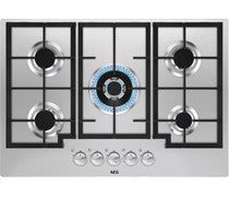 AEG HGB75301UM 75cm Gas on Glass Hob - St/Steel