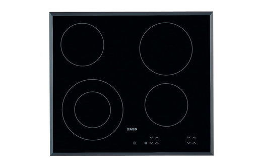 AEG HK624010FB 60cm Ceramic Hob - Black