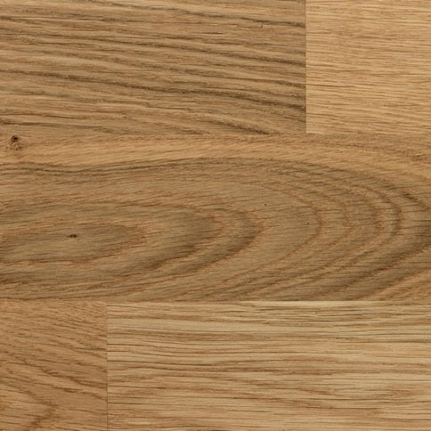 Howdens Fast-Fit Pre-finished Oak 3-Strip Real Wood Flooring 3.18sq/m